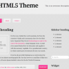 HTML5 Theme Updated to Version 2.0