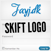 Skift logo på WordPress login side